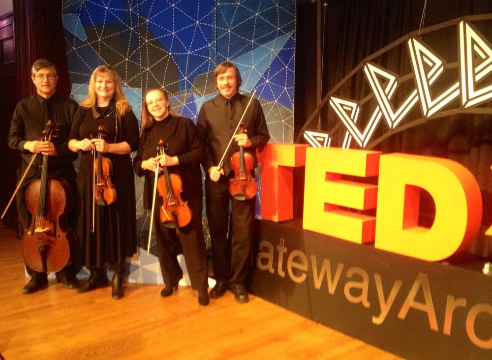 Landolfi String Quartet And Ensemble At TEDx Gateway Arch