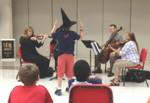 witch conducting